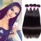 2PCS/Lot Brazilian Virgin Hair Straight 200g Brazilian Human Hair Extension 7A Virgin Brazilian Straight Hair Bundles