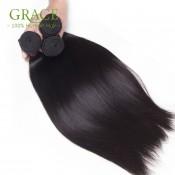 Grace Hair 5PCS/Lot Malaysian Straight Virgin Hair Bundles Malaysian Straight Luvin Hair Weaving Free Shipping Malaysian Hair