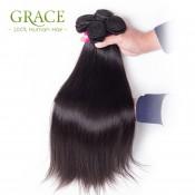 Queen Weave Beauty Straight Peruvian Virgin Hair 5Pcs/Lot Top Selling Straight Virgin Hair Peruvian Human Hair Extension