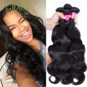 One Bundle 100g Malaysian Virgin Hair Extension Malaysian Body Wave Hair Bundle Deals 100% Virgin Human Hair Weave For Sale