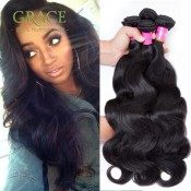 Peruvian Virgin Hair body Wave Bele Virgin Hair Peruvian body Wave 7A Grade 100% Human Hair 2 Pcs/Lot Cheap Hair
