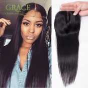 Ms Cat Virgin Malaysian Straight Closure 7A Swiss Lace Malaysian Lace Closure Malaysian Closure Straight With Bleached Knots
