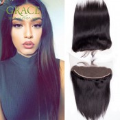 13×4 Brazilian Full Lace Frontal Straight Closure 7A Ms Cat Brazilian Straight Virgin Human Hair Ear To Ear Lace Closure
