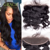Ear to Ear Lace Frontal Closure With Bundles brazilian body wave with frontal closure brazilian hair weave bundles with frontal