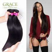 7A Grade Brazilian Virgin Hair Straight 4 Bundles Brazilian Straight Hair Bundles Virgin Human Hair Extensions Brazilian Hair