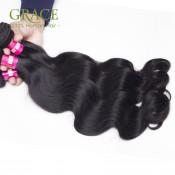 Brazilian Hair Weave Bundles Grace Hair Company Brazilian Virgin Hair Body Wave 3Pcs 7A Mink Unprocessed Brazilian Virgin Hair