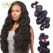 Malaysian Body Wave Virgin Hair Ali Queen Hair 100% Virgin Human Hair Extensions 7a Unprocessed Virgin Hair Malaysian Body Wave