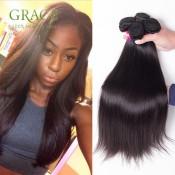 7A Unprocessed 100% Human Hair Peruvian Straight Virgin Hair 5 Pcs/lot Premium Now Straight Hair Peruvian Virgin Straight Hair