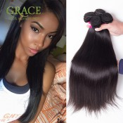 Brazilian Virgin Hair Straight 5Bundles Natural Black Mocha Hair Company Wholesales 7A Brazilian Human Hair Extension Straight