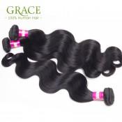 Wholesale Malaysian Body Wave 100% Unprocessed Natural Black Human Hair 7A Malaysian Virgin Hair Bundles Virgin Malaysian Hair