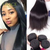 Peruvian Virgin Hair Straight 3pcs Lot For Your Nice Hair 100% Unprocessed Peruvian Virgin Hair 7a Peruvian Straight Hair