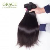Beauty Forever 7A Brazilian Virgin Hair Straight Weaves 5PCS/Lot Virgin Brazilian Straight Hair Cheap Human Hair Bundles
