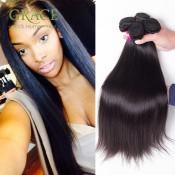 Schönheit für immer 7A brasilianische Jungfrau-Haar-gerade webt 5PCS / Lot Virgin brasilianischen Glattes Haar Günstige Menschliches Haar Bundles