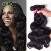 Juliet Virgin Hair Peruvian Virgin Hair Body Wave 4pcs Lot Peruvian Body Wave 7A Grade Natural Black Peruvian Hair Bundles