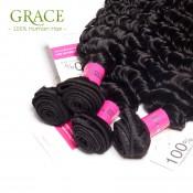 Rosa Hair Malaysian Deep Curly Virgin Hair 5pcs Lot Malaysian Deep Wave Natural Black Hair Malaysian Virgin Curly Hair Bundles