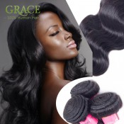 7A Brazilian Body Wave 1pcs/100g Natural Hair Extensions Brazilian Virgin Hair Body Wave Unprocessed Body Wave Human Hair Weave
