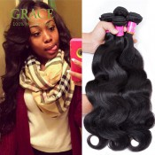 Queen Hair Products Malaysian Virgin Hair Body Wave 3PCS/Lot 100% Malaysian Human Hair Extension Body Wave Hair