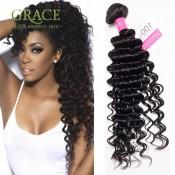 5 Bundles Indian Hair Deep Wave Indian Virgin Hair VIP Beauty Hair Products Deep Curly Weave 100% 6A Indian Curly Virgin Hair