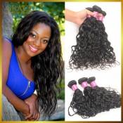 Brazilian Water Wave Virgin Hair 4PCS/LOT 400g Mocha Hair Company Brazilian Natural Wavy Brazilian Wet And Wavy Human Hair