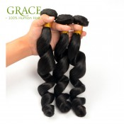 7A Brazilian Virgin Hair 5Bundles Queen Hair Products Brazillian Loose Wave Virgin Hair Mink Brazilian Loose Wave Hair