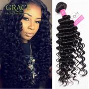 4 Bundles Unprocessed Malaysian Curly Hair Queen Beauty Hair Malaysian Deep Wave Top Quality Malaysian Curly Virgin Hair